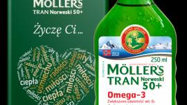 Podaruj bliskim zdrowie z Möller's Tran Norweski 50+ w eleganckich opakowaniach!