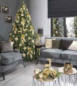 Świąteczna aranżacja: 4 sposoby na wyczarowanie modnej aranżacji na Święta