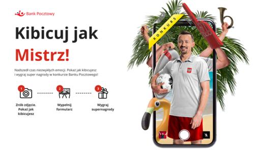 Konkurs fotograficzny Kibicuj jak Mistrz – Zrób zdjęcie jak kibicujesz w czasie EURO 2020 i wygraj z Bankiem Pocztowym Najlepsze zdjęcia wybierze m.in. Adam Małysz